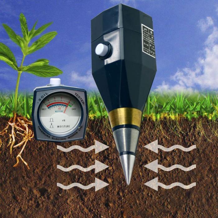 Máy đo pH và độ ẩm đất DM - 15 chính hãng Takemura - Nhật2