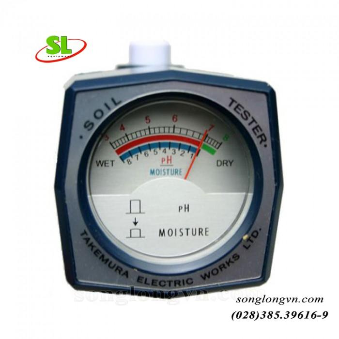 Máy đo pH và độ ẩm đất DM - 15 chính hãng Takemura - Nhật1