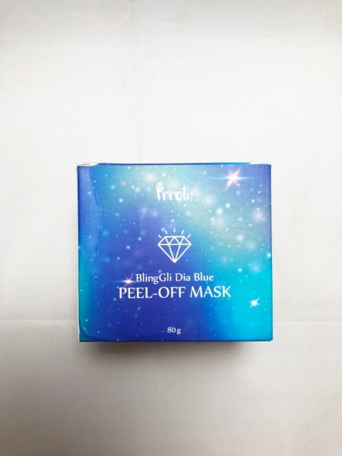 Mặt nạ lột dưỡng da Kim Cương Bling Gli Peel Off Mask Prreti2