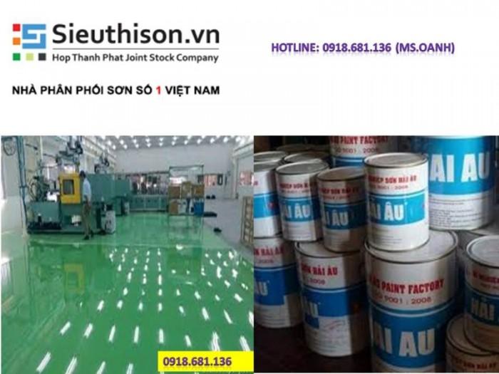 Đại lý bán sơn epoxy Hải Âu giá rẻ uy tín tại Sài Gòn0