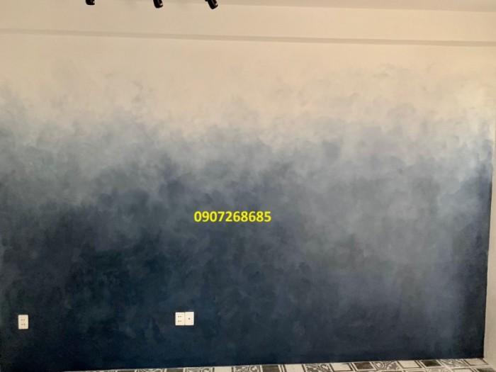 Sơn hệ Ombre, Sơn tường chuyển màu ( Ombre, sơn hiệu ứng chuyển màu đậm sang nhạt )