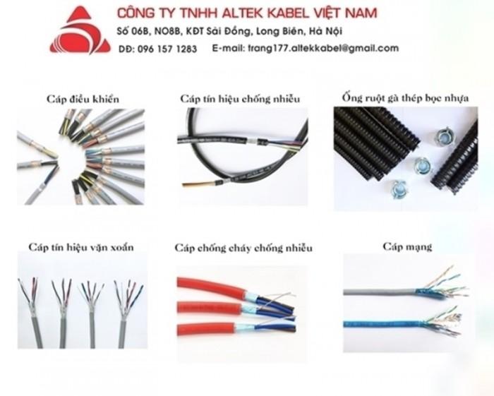 Cáp điều khiển chống nhiễu RVVP - Cáp chống nhiễu 4x1.5QMM5