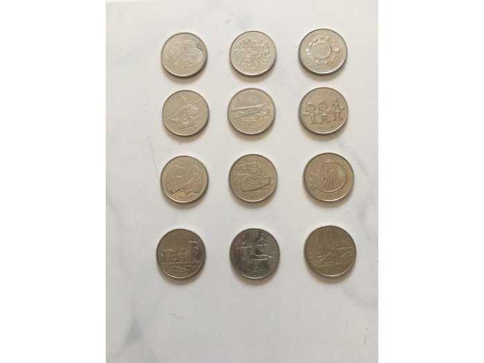 đồng tiền canada1