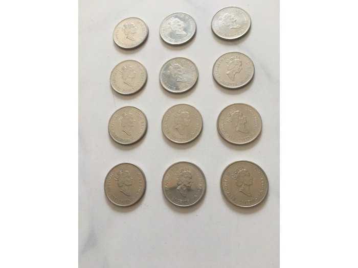 đồng tiền canada2