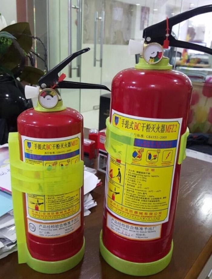 Bình chữa cháy bột BC 1kg- MFZ10