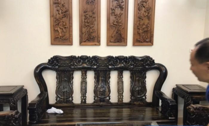 Bộ Minh Quốc Voi Tay 12 gỗ Mun Lào.!0
