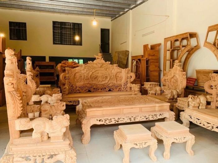 Bộ Đỉnh Rồng gỗ Gõ Nam Phi1