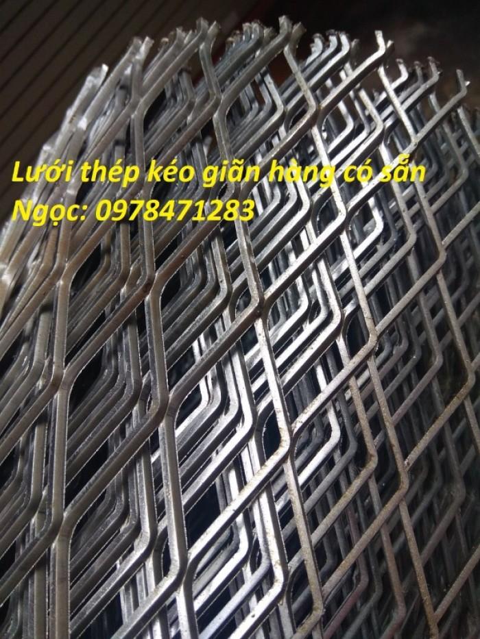 Lưới dập giãn – Lưới thép hình thoi- Lưới quả trám hàng có sẵn3