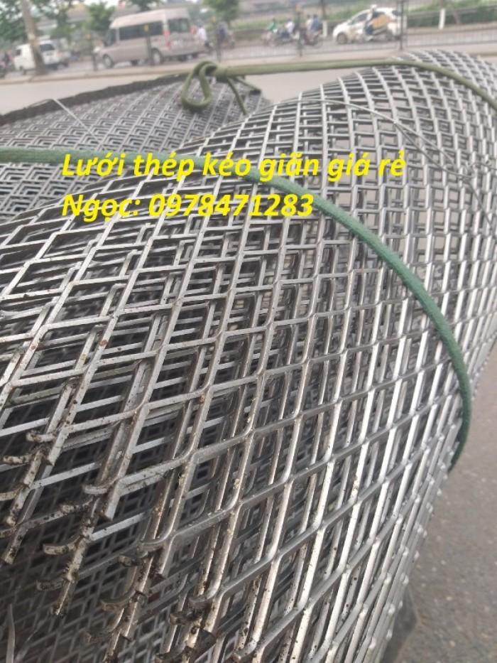 Lưới dập giãn – Lưới thép hình thoi- Lưới quả trám hàng có sẵn1