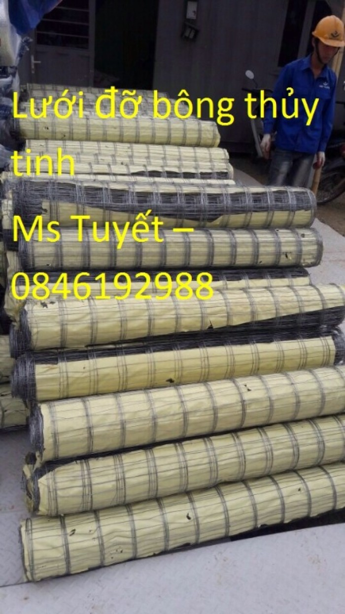 Lưới đỡ bông thủy tinh chống nóng, cách nhiệt có sẵn tại Hà Nội2