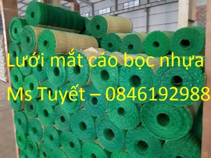 Lưới mắt cáo bọc nhựa có sẵn tại Hà Nội1