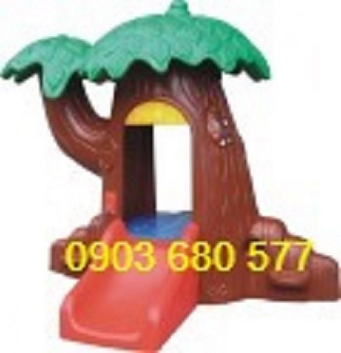 Nhà chơi dạng cổ tích trẻ em cho trường mầm non, sân chơi, công viên5