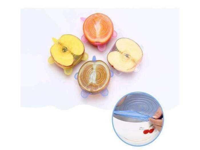 sét 6 miếng bọc thực phẩm silicol1