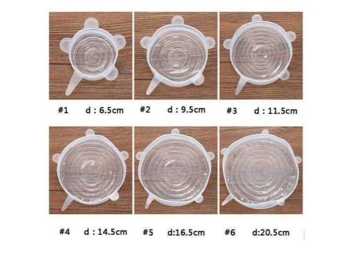 sét 6 miếng bọc thực phẩm silicol3