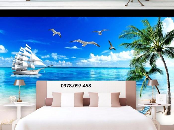 Phòng ngủ - tranh 3D trang trí thêm đẹp1