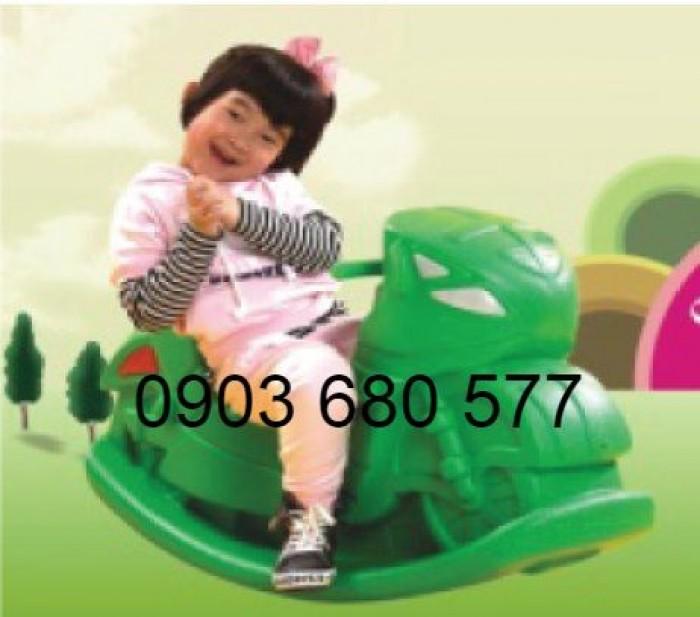 Bập bênh trẻ em cho trường mầm non, công viên, sân chơi trẻ nhỏ15