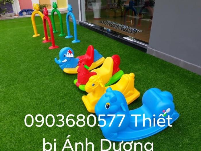 Bập bênh trẻ em cho trường mầm non, công viên, sân chơi trẻ nhỏ4