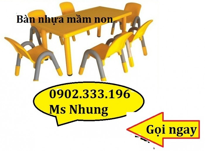 cung cấp sỉ bàn ghế nhựa mầm non2