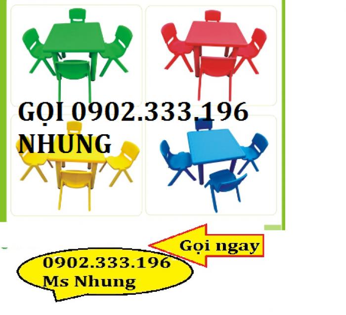 cung cấp sỉ bàn ghế nhựa mầm non3
