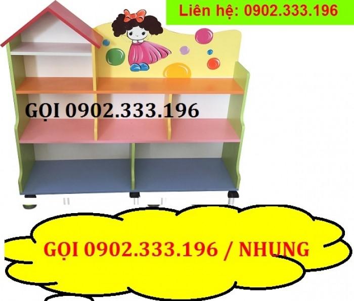 Bán tủ kệ mầm non mẫu giáo, kệ nhà trẻ giá rẻ ĐỒNG NAI14