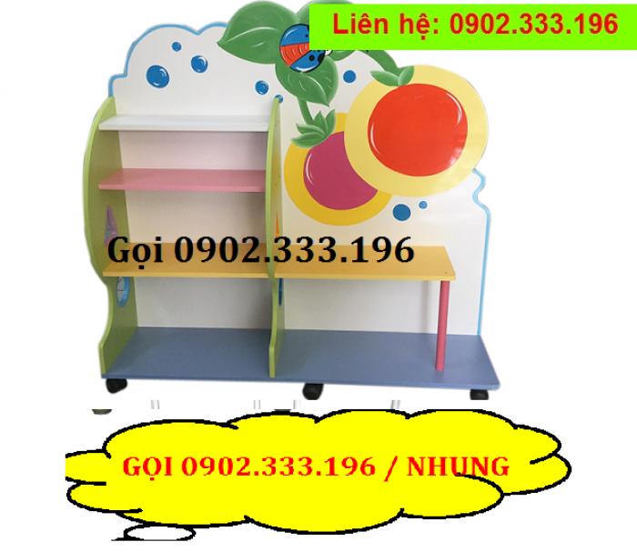 Bán tủ kệ mầm non mẫu giáo, kệ nhà trẻ giá rẻ ĐỒNG NAI2