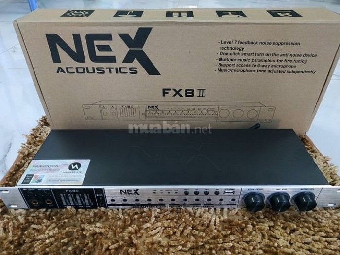 VANG CƠ NEX FX8 II Với thiết kế các cần chỉnh ẩn sâu bên trong hạn chế tối đa tình trạng sai lệnh cần chỉnh vô  ý, điều chỉnh bằng chiếc vít dẹp nhỏ được Điện Máy Hải tặng kèm theo.1