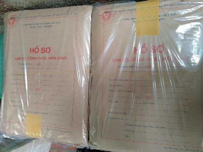 Bán hồ sơ cán bộ công chức,viên chức mới1