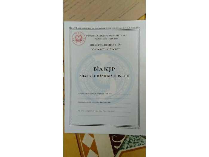 Bán hồ sơ cán bộ công chức,viên chức mới3