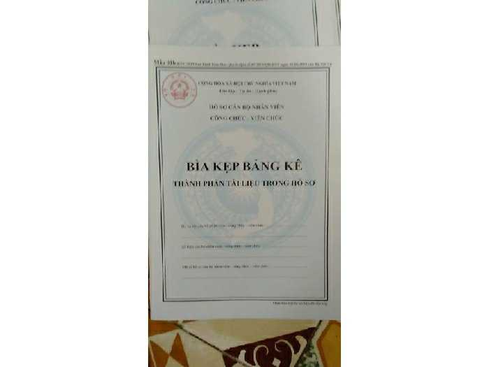 Bán hồ sơ cán bộ công chức,viên chức mới4