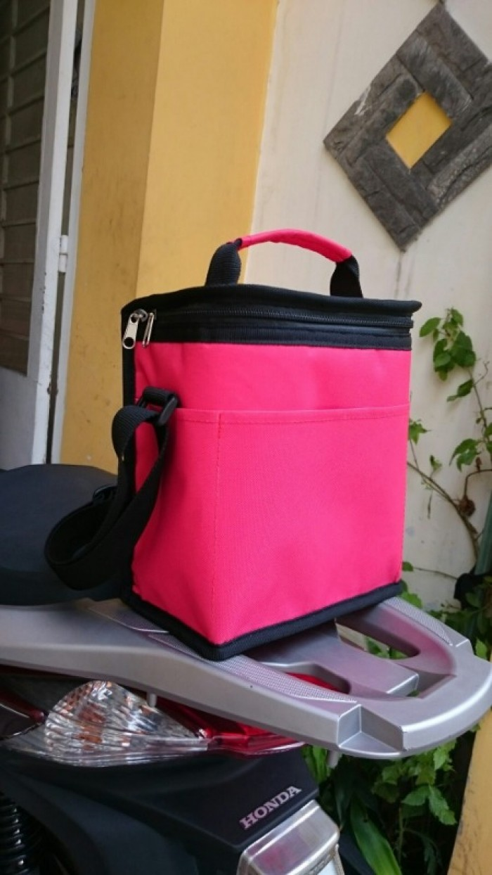 Túi giữ nhiệt in/thêu logo theo yêu cầu3