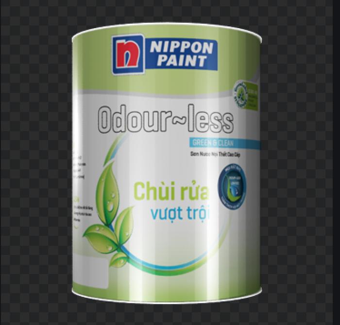 Đại lý bán sơn lót nội thất Nippon Ouder - Less Sealer không màu0