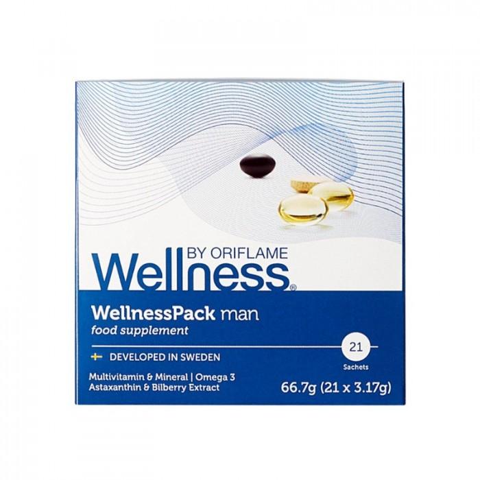 29697 WellnessPack Man Thực phẩm bổ sung dinh dưỡng, chống lão hóa cho nam giới  Oriflame1
