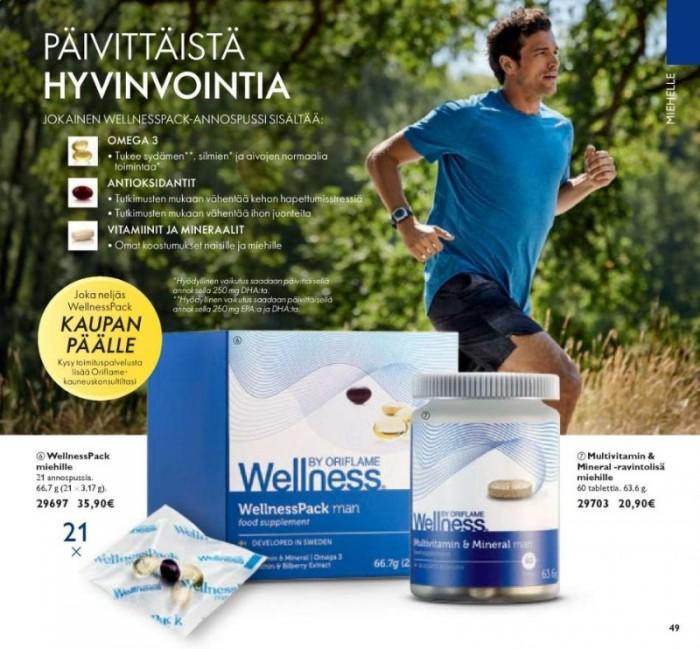 29697 WellnessPack Man Thực phẩm bổ sung dinh dưỡng, chống lão hóa cho nam giới  Oriflame2