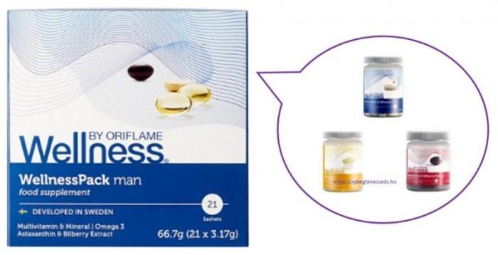 29697 WellnessPack Man Thực phẩm bổ sung dinh dưỡng, chống lão hóa cho nam giới  Oriflame3