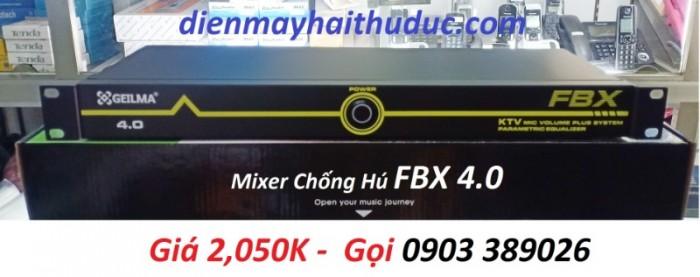 Mixer chống hú FBX 4.0 Hiệu quả cao với môi trường không gian kín, nhỏ hẹp, nhiều loa 0
