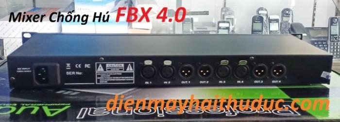 Mixer chống hú FBX 4.0 Khuyến mãi 2 sợi dây canon chuyên dùng cho Mixer chống hú FBX 4.03