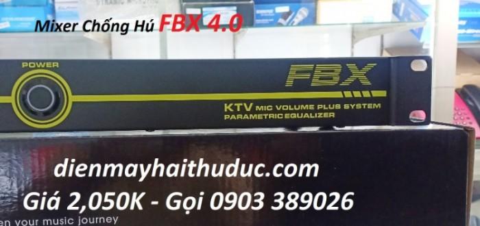Mixer chống hú FBX 4.0 -Tiếng echo vang xì mượt hơn trước 4
