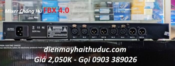 Mixer chống hú FBX 4.0 Giảm hú rít hiệu quả từ 80-90%. thoải mái điều chỉnh âm thanh tiếng hát nghe hay nhất mà không còn bị hú rít khó chịu 5