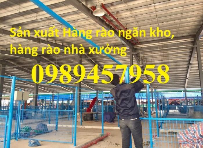 Công ty sản xuất hàng rào ngăn kho, hàng rào nhà xưởng giá tốt0
