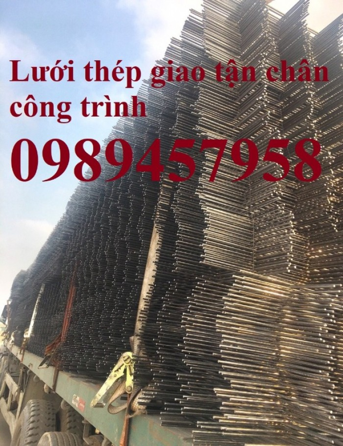 Xưởng sản xuất lưới thép hàn chập phi 5 ô 50x50, 100x100, 150x150, 200x200 mới 100%0