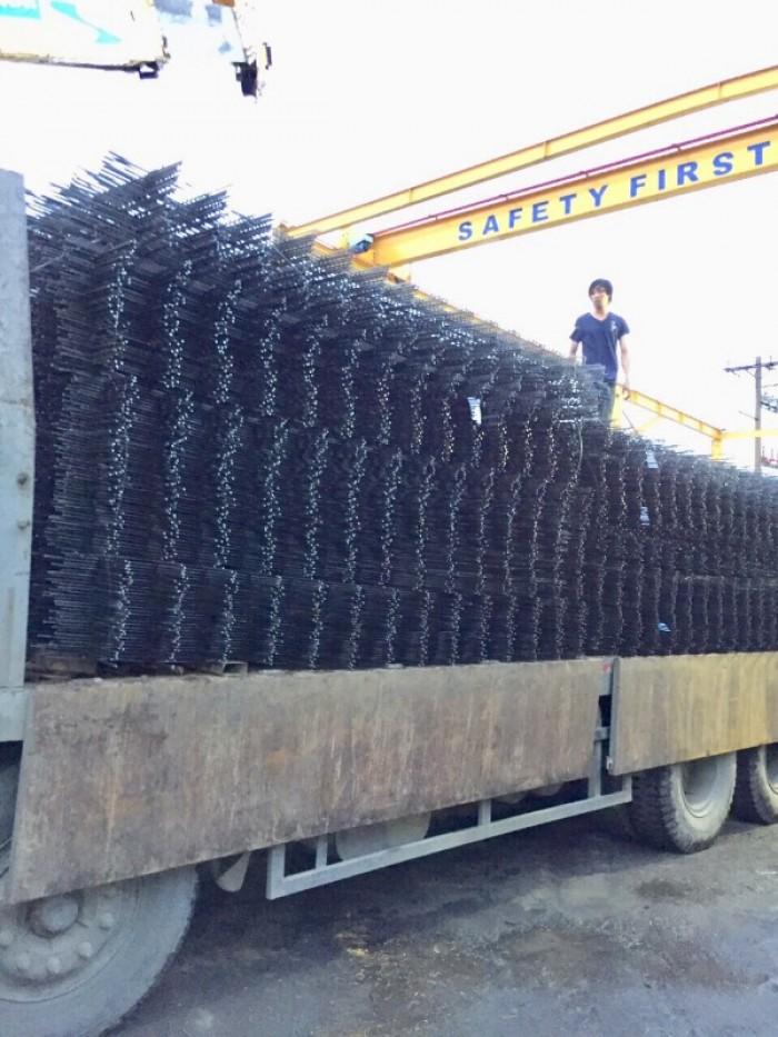 Xưởng sản xuất lưới thép hàn chập phi 5 ô 50x50, 100x100, 150x150, 200x200 mới 100%2
