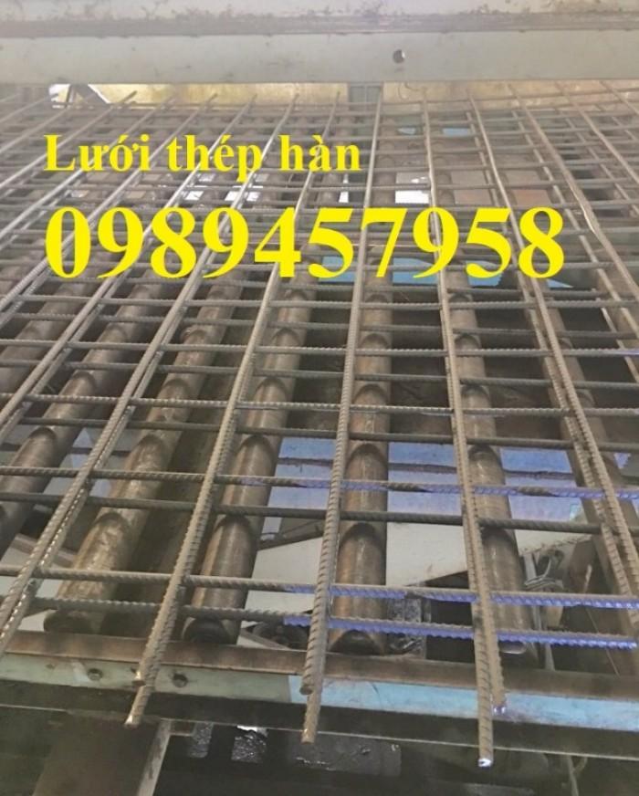 Xưởng sản xuất lưới thép hàn chập phi 5 ô 50x50, 100x100, 150x150, 200x200 mới 100%3
