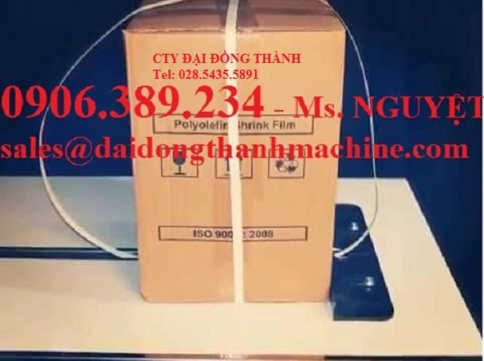 Máy ĐAI niềng thùng carton EX100 / EX102 / EX103 bán tự động Wellpack giá gốc