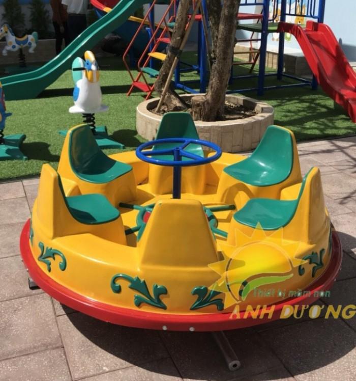 Đồ chơi đu quay trẻ em cho trường mầm non, công viên, sân chơi6