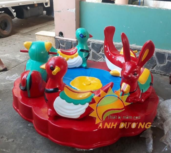Đồ chơi đu quay trẻ em cho trường mầm non, công viên, sân chơi7