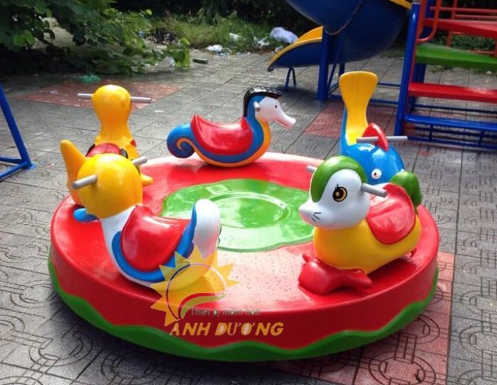 Đồ chơi đu quay trẻ em cho trường mầm non, công viên, sân chơi4