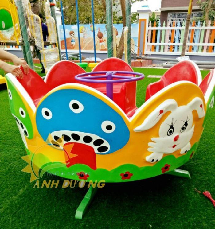 Đồ chơi đu quay trẻ em cho trường mầm non, công viên, sân chơi9