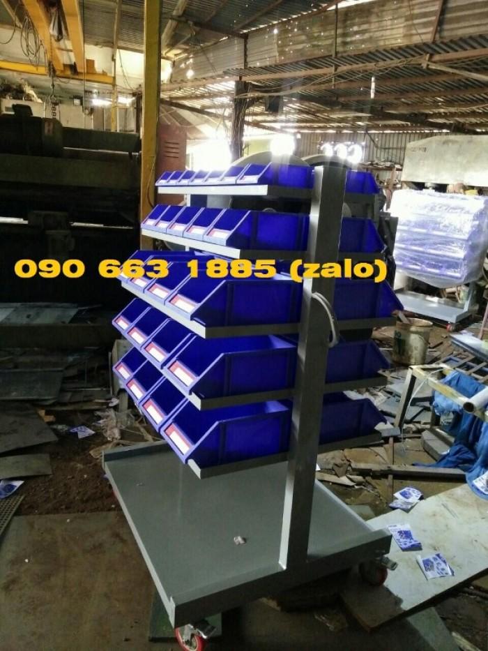 Kệ đựng đồ nghề ốc vit, bulong,…khay linh kiện cao cấp1