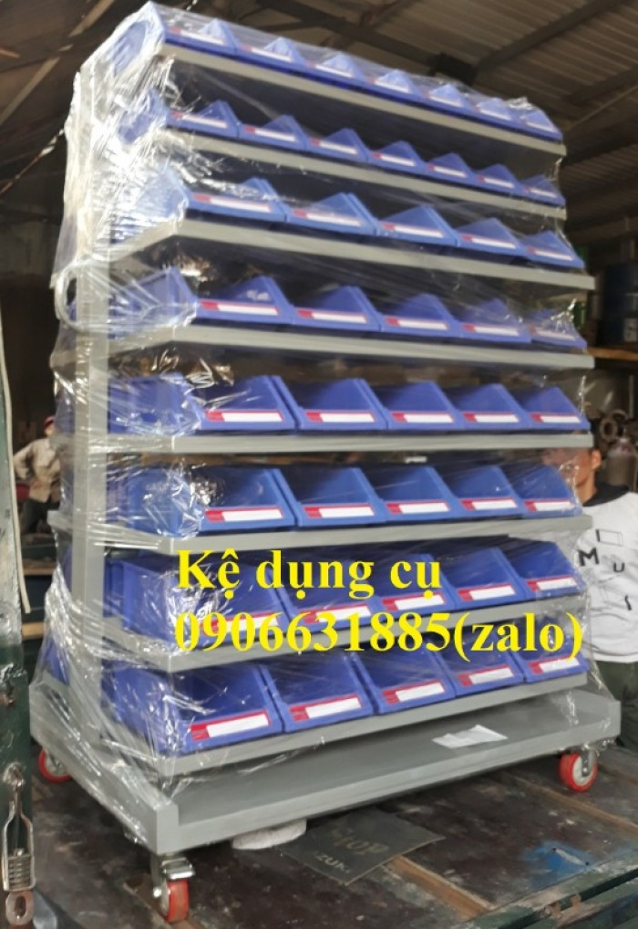 Kệ đựng đồ nghề ốc vit, bulong,…khay linh kiện cao cấp5