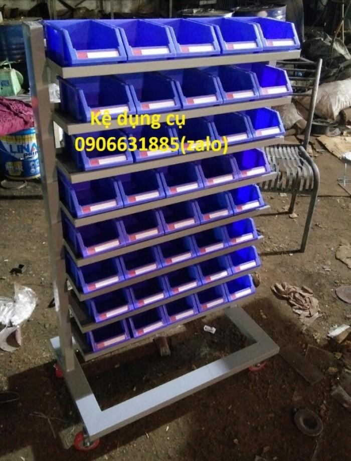 Kệ đựng đồ nghề ốc vit, bulong,…khay linh kiện cao cấp6